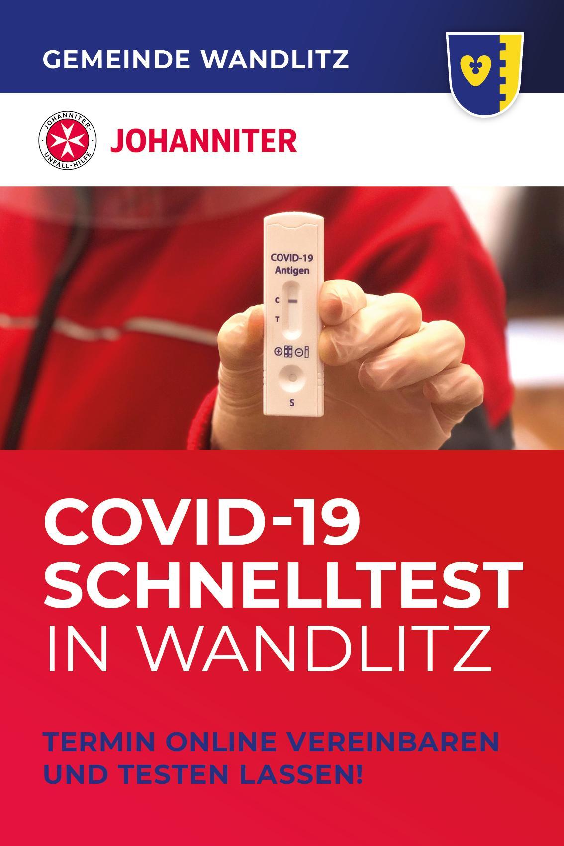 Gemeinde Wandlitz Corona Schnelltest