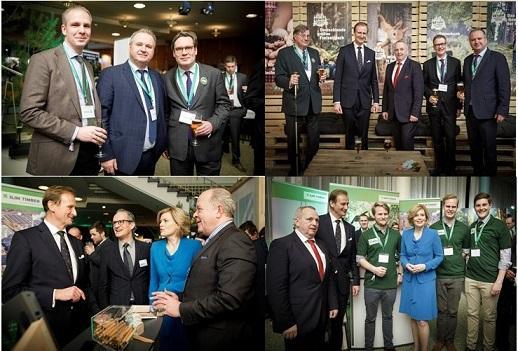 Waldeigentümer Empfang 2020 - Zur Eröffnung der  IGW Berlin