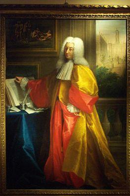 Porträt des Senator Nicolò Bielke
