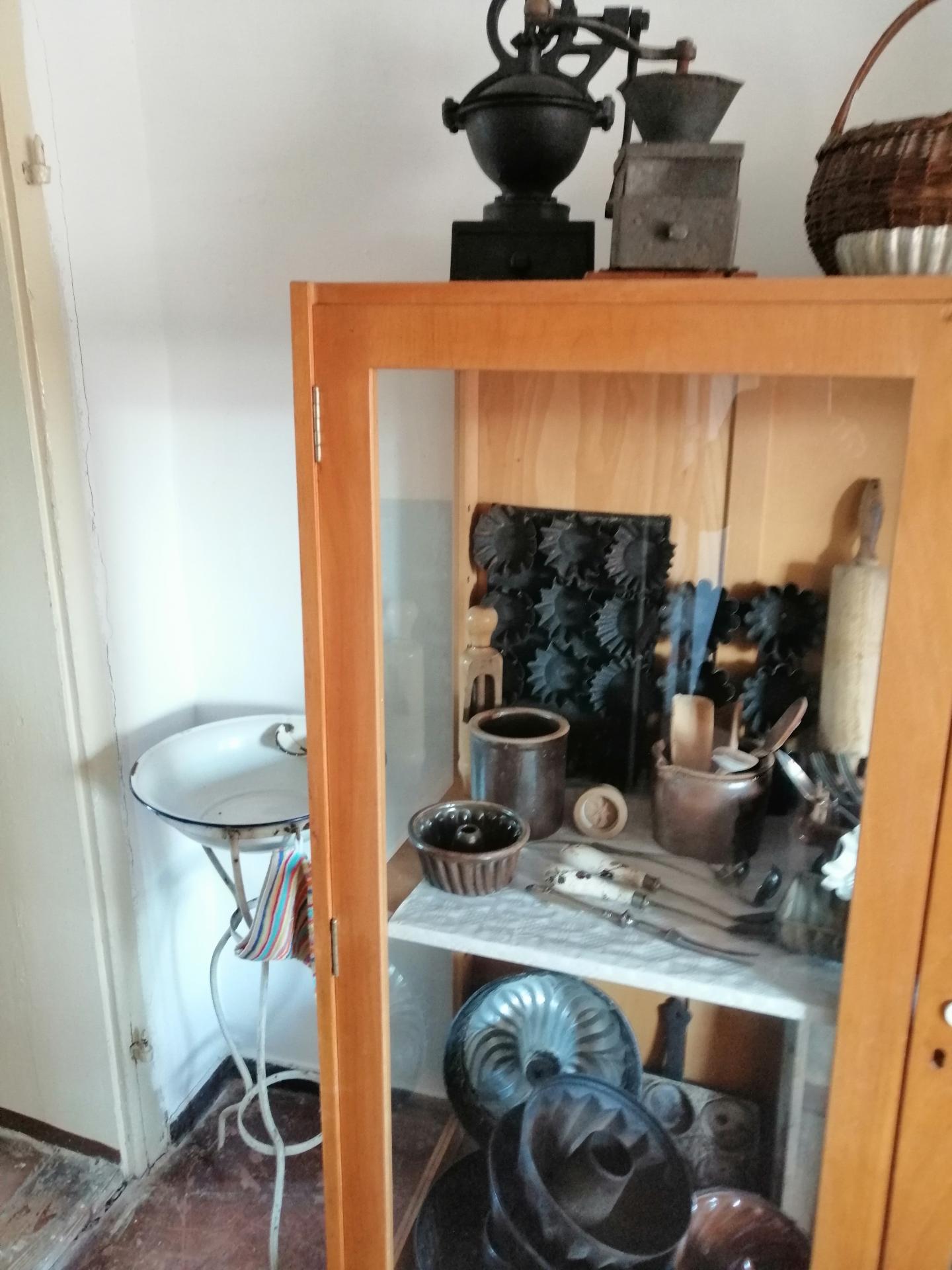 Küchenutensilien vergangener Zeit