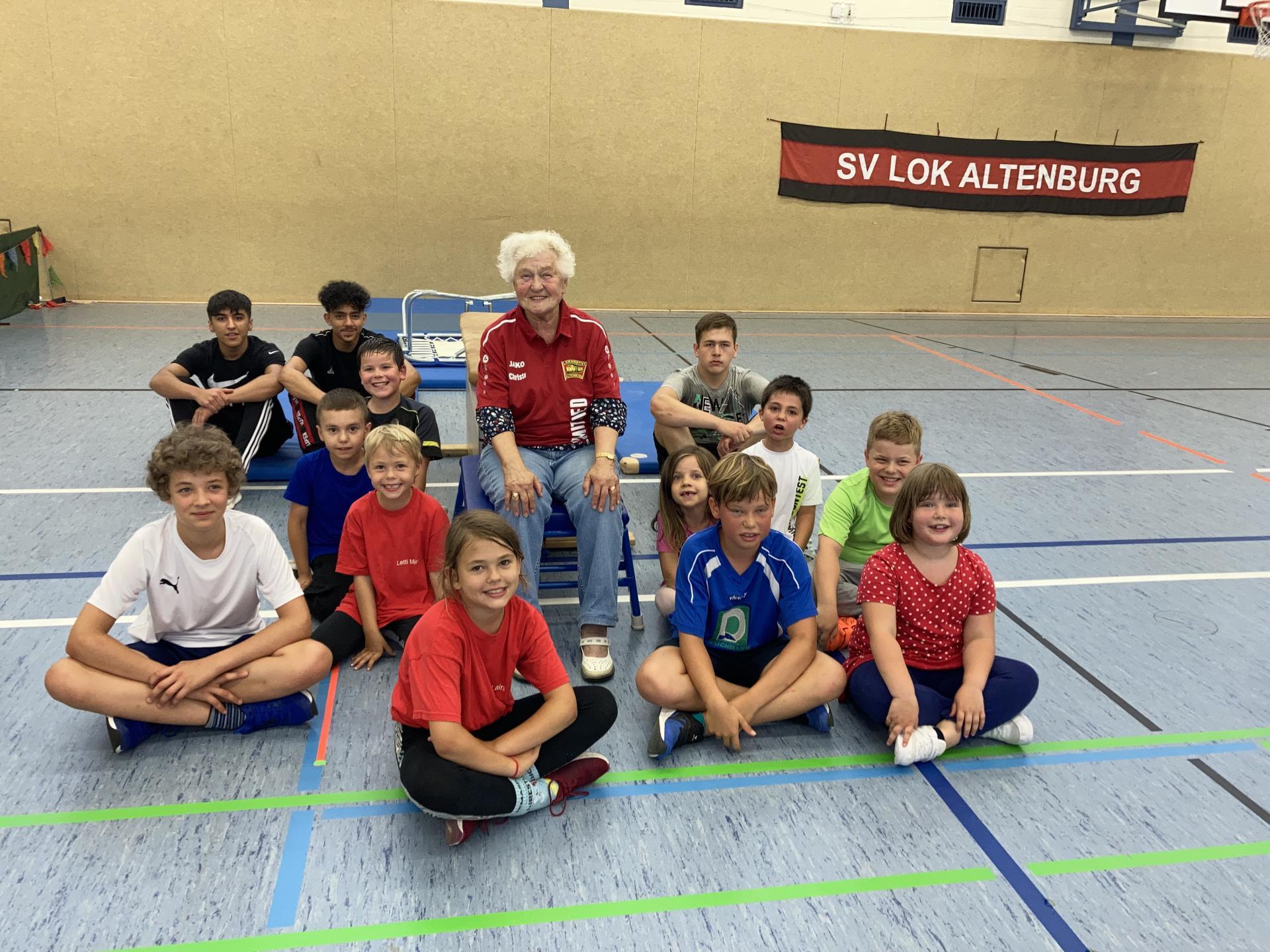 Christa Wolf & Kids