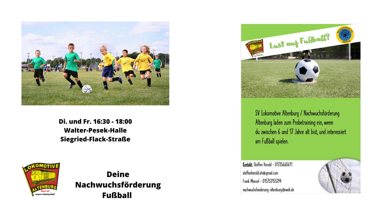 Deine Nachwuchsförderung Fußball 2021
