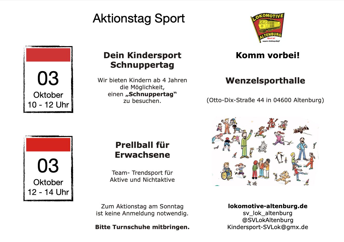 Aktionstag Sport