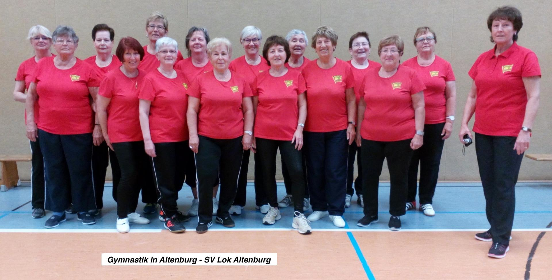 Gymnastik in Altenburg