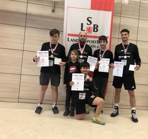 Thüringern Meisterschaften im griechisch/römischen Stil in Greiz
