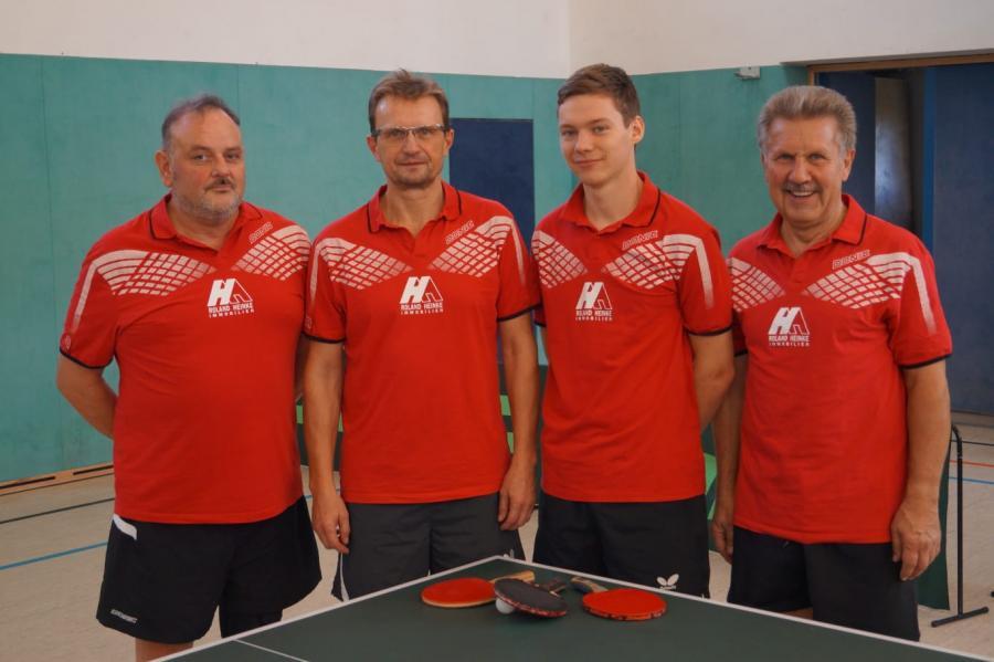 1. Herrenmannschaft der Abteilung Tischtennis