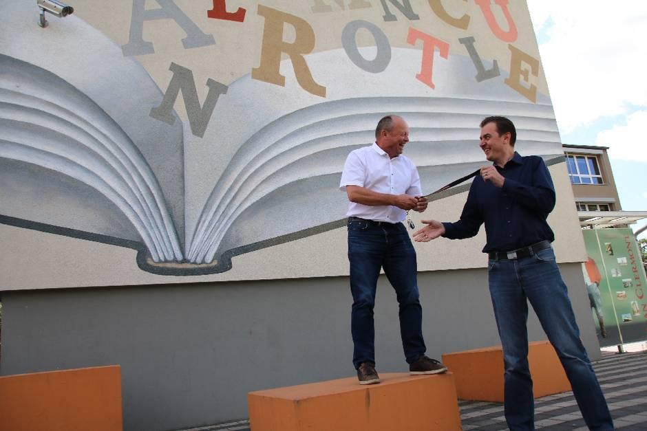 Große Neuerung in Sachsenhausen