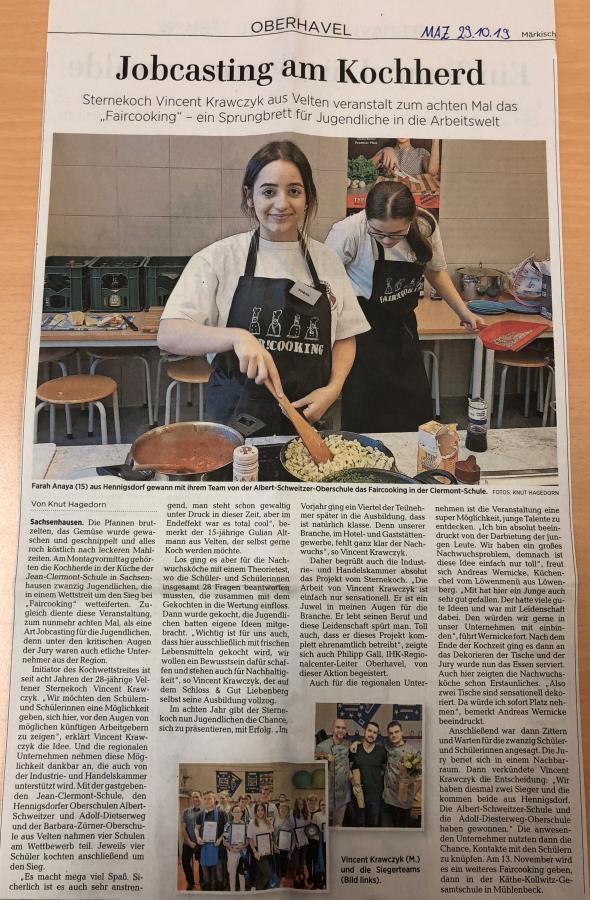 Fair!Cooking 2019 MAZ