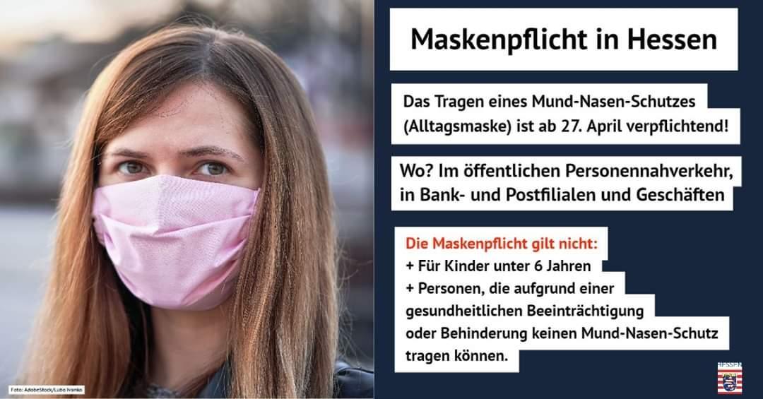 Maskenpflicht 2