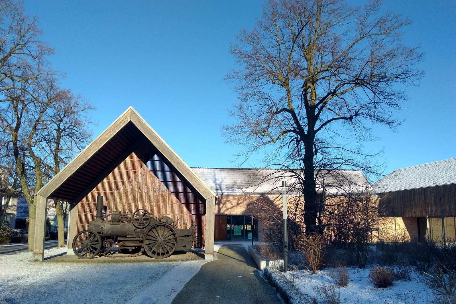 Barnim Panorama_Lokomobile Winter_Foto Gemeinde Wandlitz