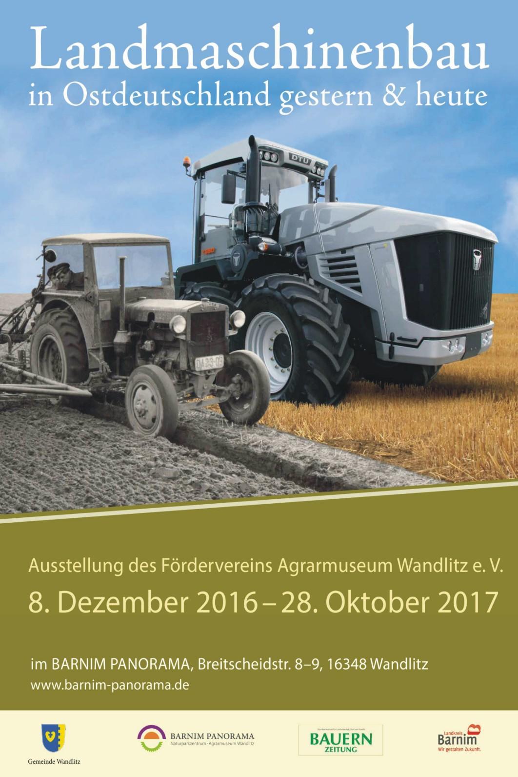 Landmaschinen in Ostdeutschland