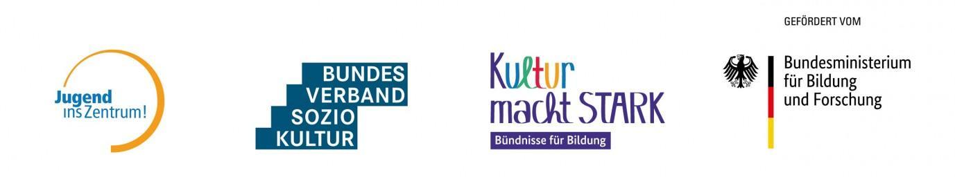 Logoleiste Jugend ins Zentrum