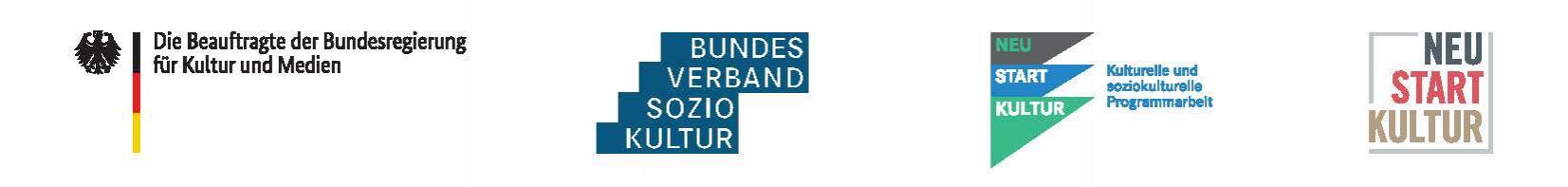 Logoleiste Neustart Kultur