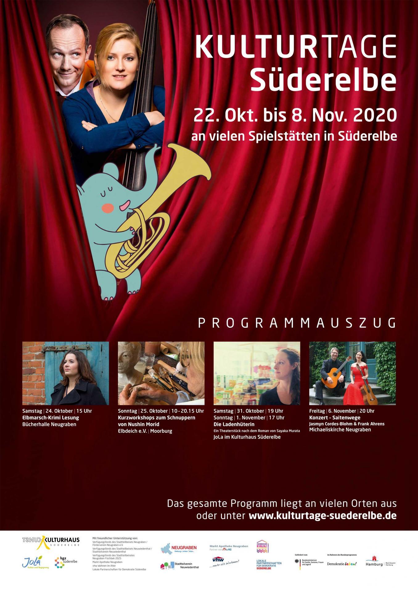 Plakat Kulturtage 2020