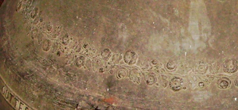 glocke gaechlingen rosendekor