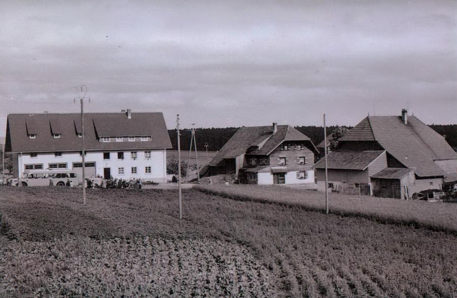 Gemeindehaus vom ehem  HdG aus