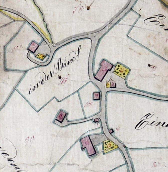 Um die Kapelle 1845