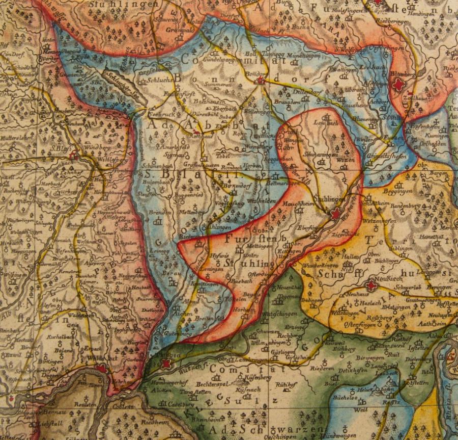 Karte Bonndorf