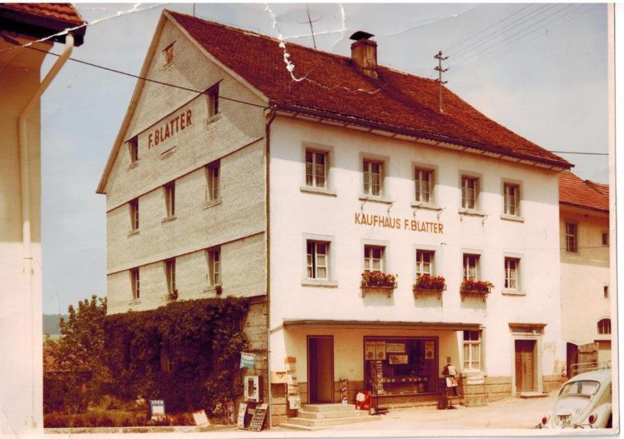 Kaufhaus Blatter ca.1960