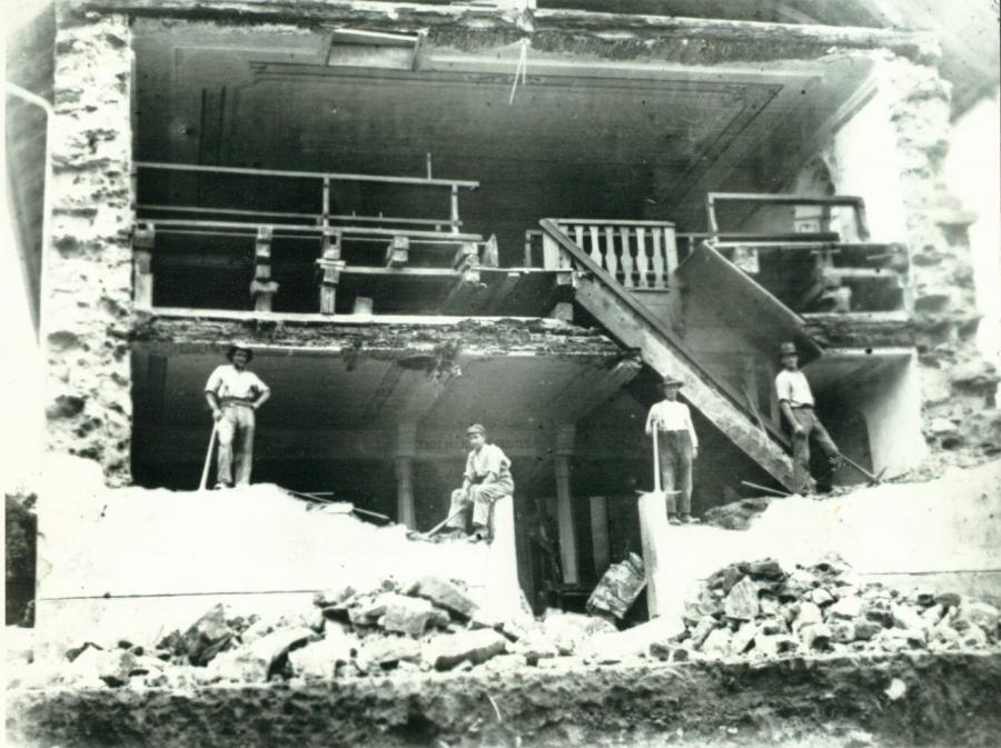 Kirchenanbau 1931