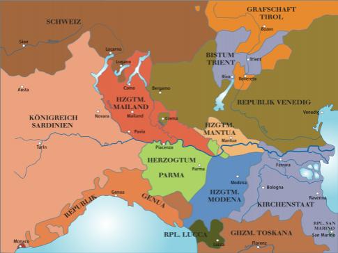 norditalien vor napoleon