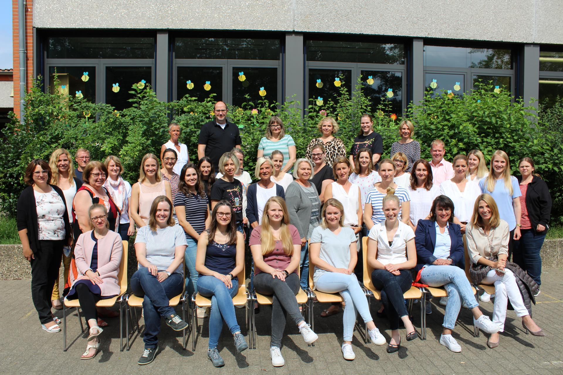 Das Pesta - Team im Schuljahr 2020 / 2021