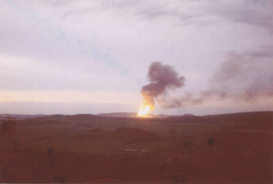 4. Juli 1978 Explosion der Erdgas-Verdichterstation