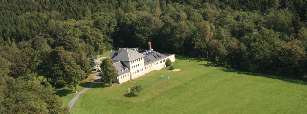 Forsthaus Luftaufnahme