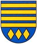 Wappen unserer lettischen Partnerstadt Strenci