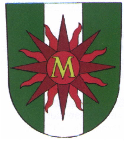 Wappen unserer tschechischen Partnerstadt Mezibori