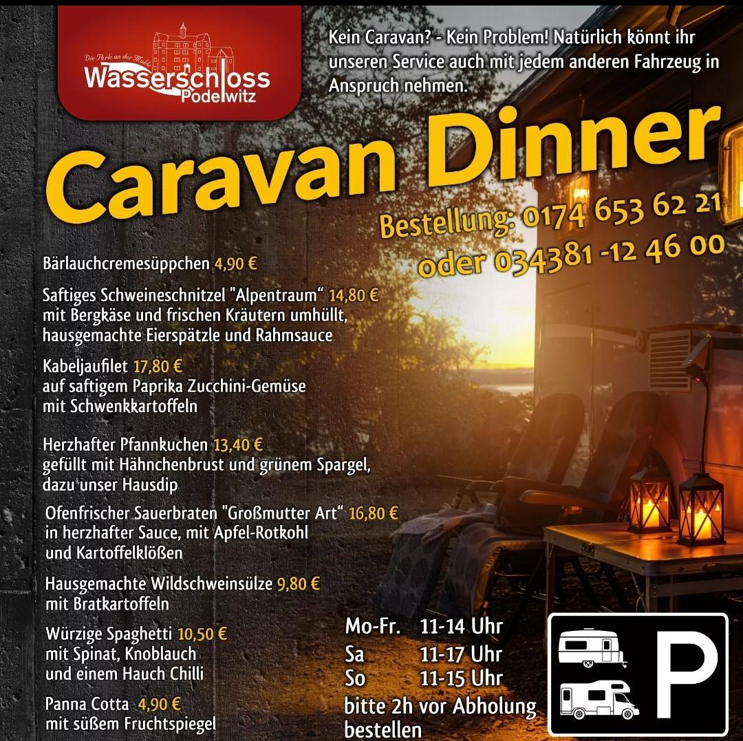 Caravan-Dinner 12.04.