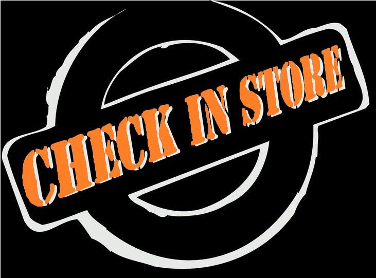 CHECK IN STORE