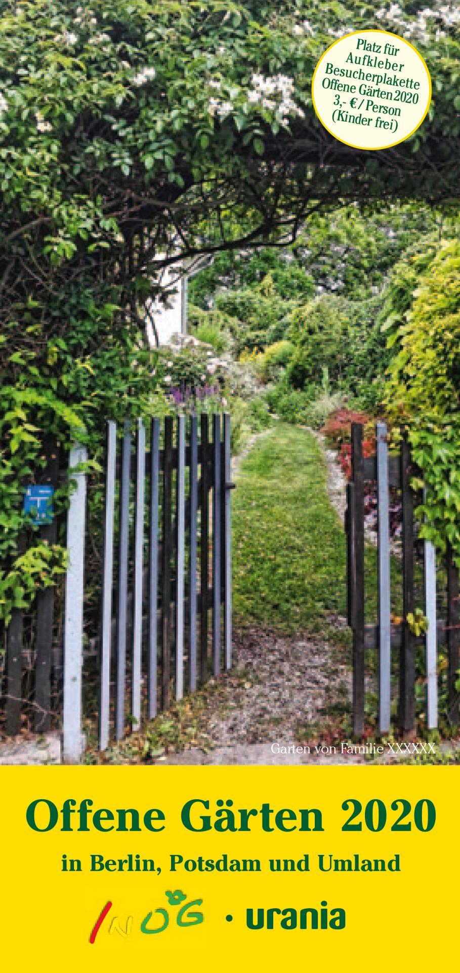 Offene Gärten 2020