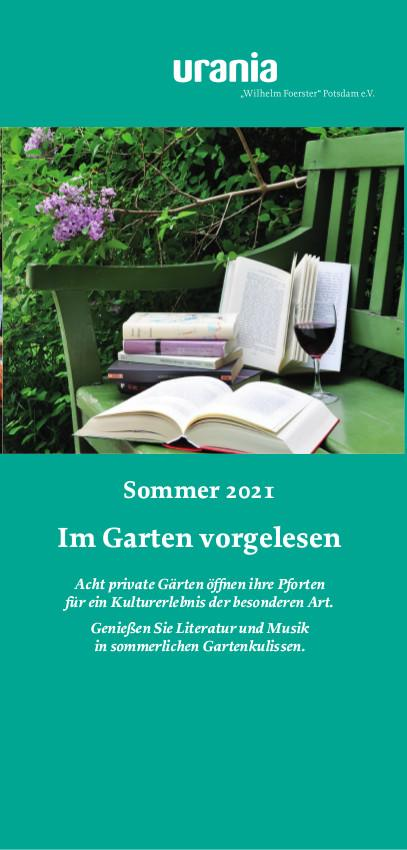 Im Garten vorgelesen 2021