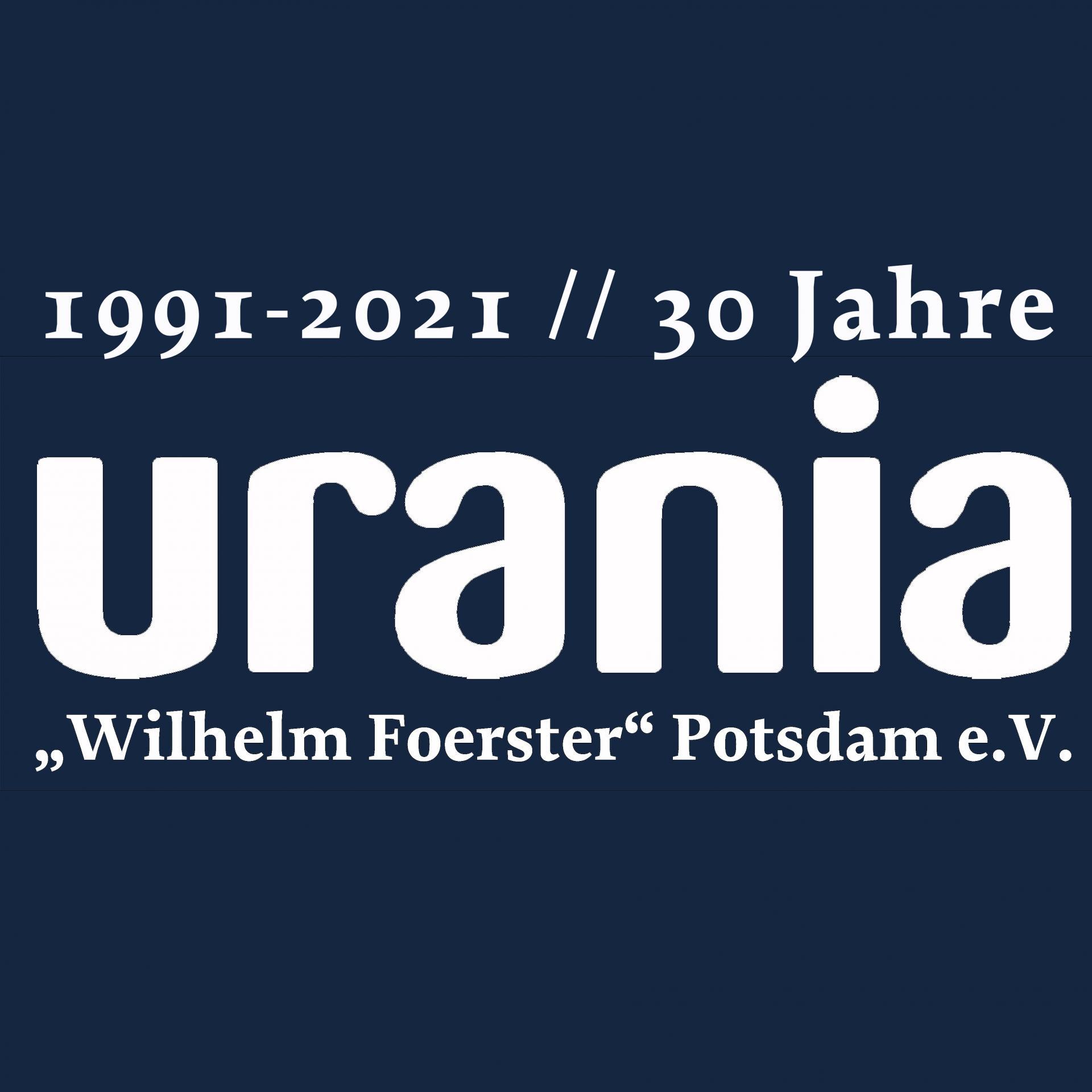 30 Jahre URANIA Potsdam