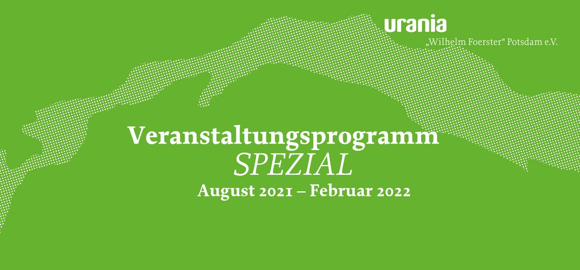 Veranstaltungsprogramm 2021