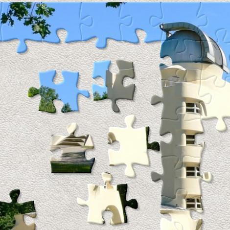 Puzzlen Sie den Einsteinturm!