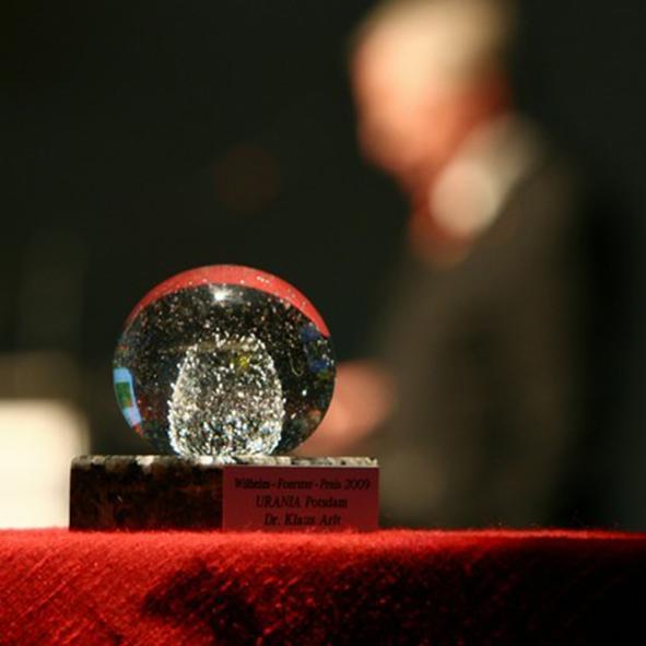 Wilhelm-Foerster-Preis - Alle Preisträger und Impressionen von Verleihungen