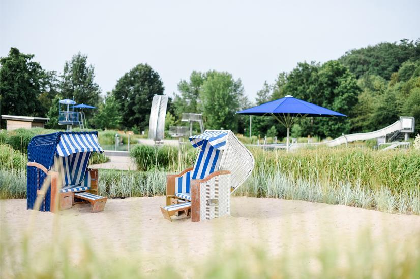 Strandkorbfeeling im Ortenberger Freibad
