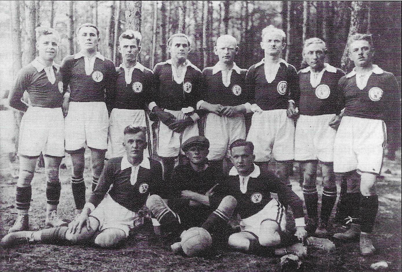Erste Männermannschaft 1921