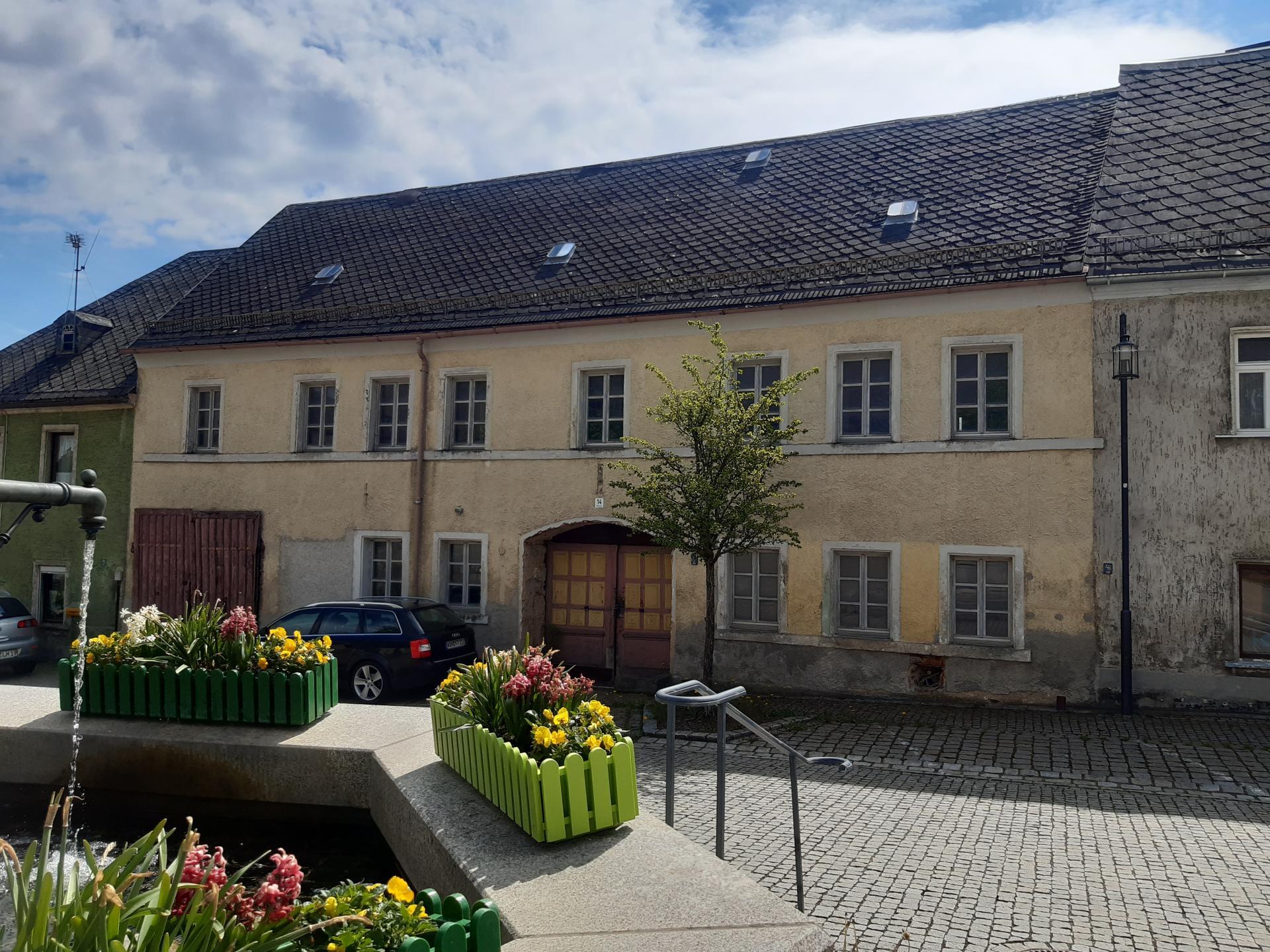 Alte Schmiede Ansicht Marktplatz