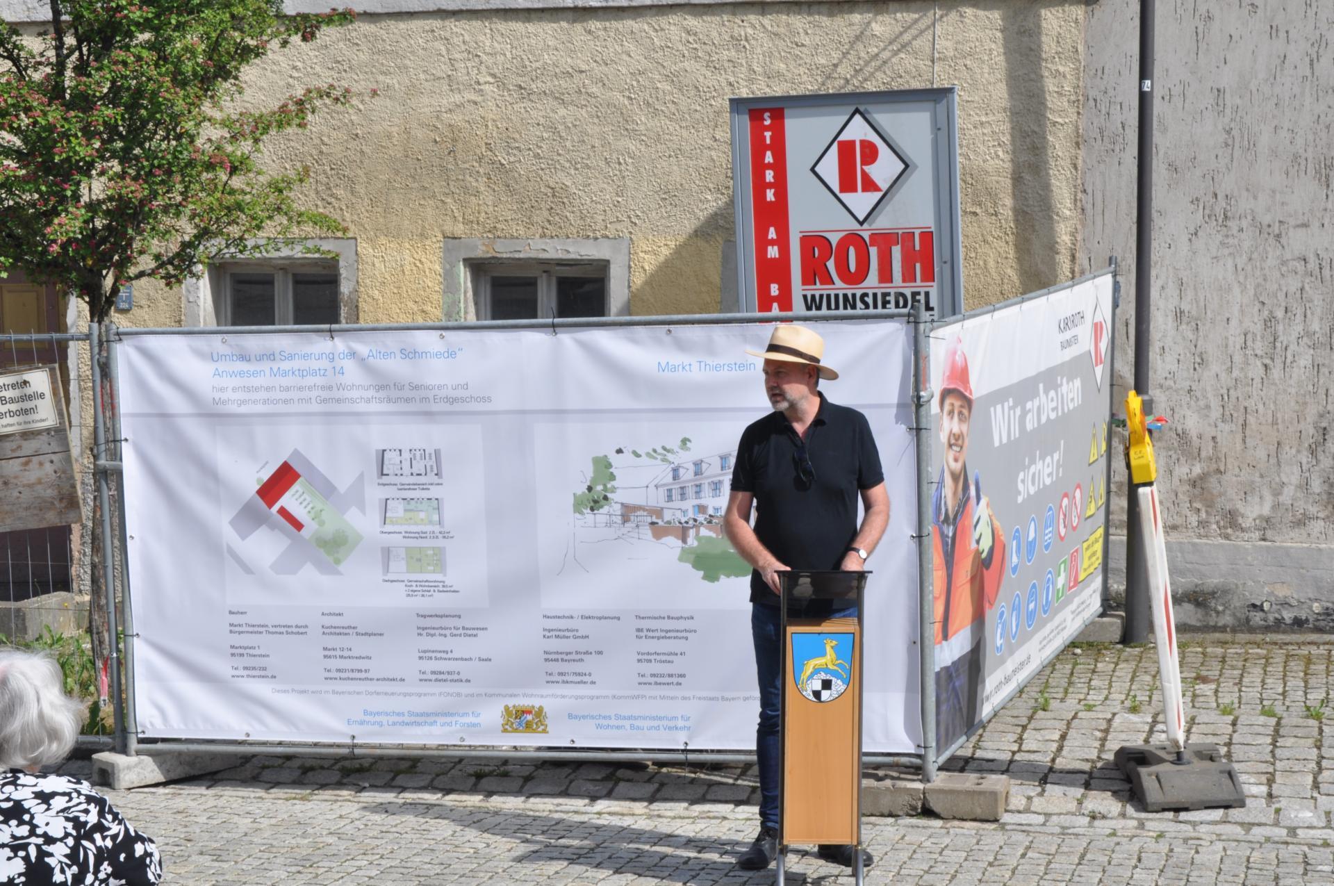 Architekt Peter Kuchenreuther