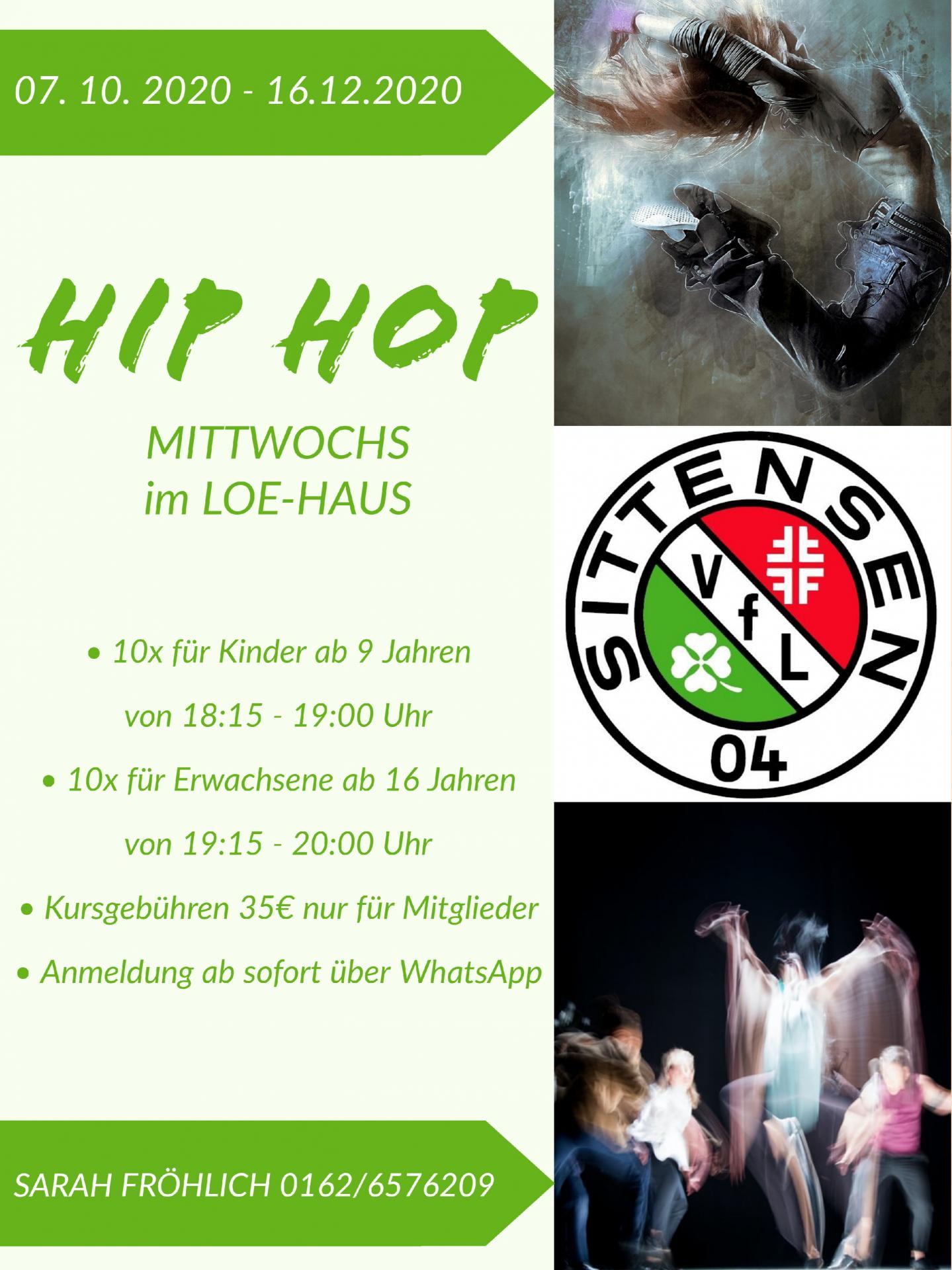 Flyer Hipp Hopp 2020