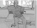 Gleichgewicht im Sitzen
