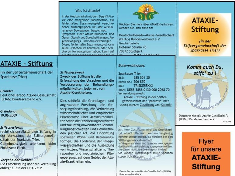 Ataxie-Stiftung