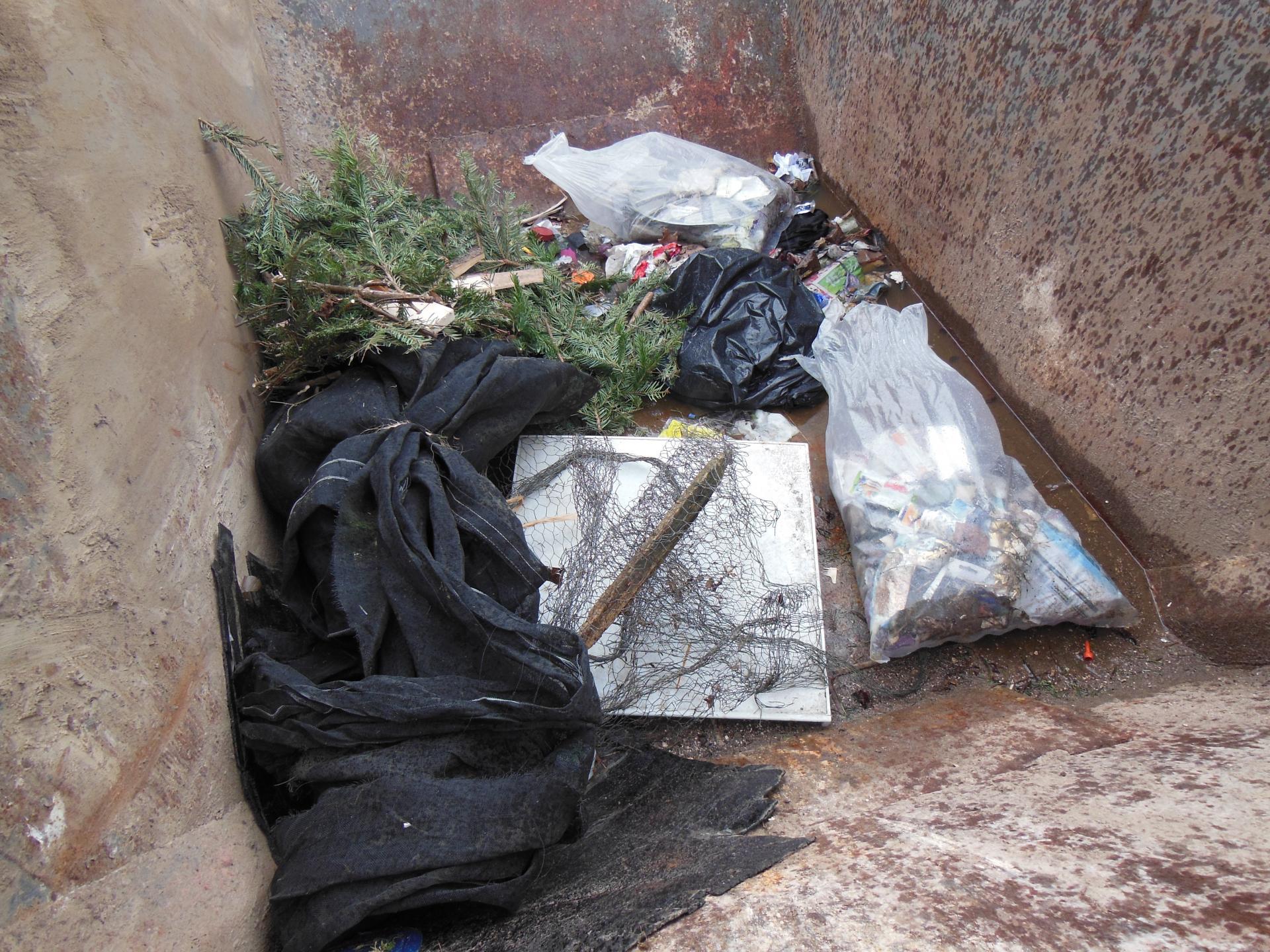 Müllsammeln