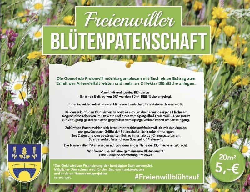 Logo Blühwiesen