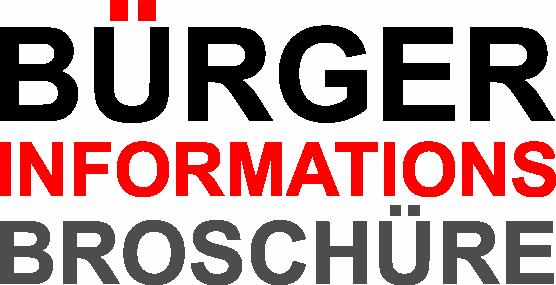 Bürgerinformationsbroschüre