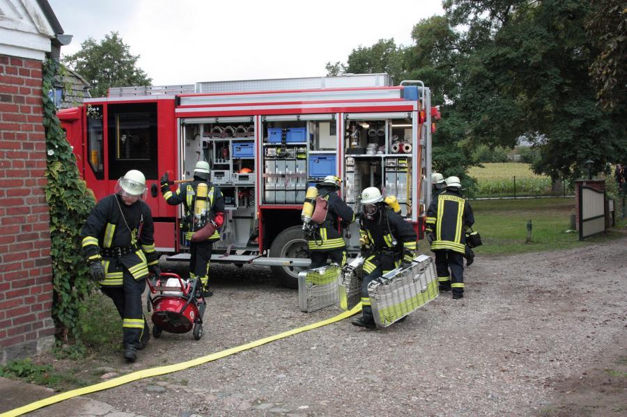 Feuerwehr Pohnsdorf im Einsatz
