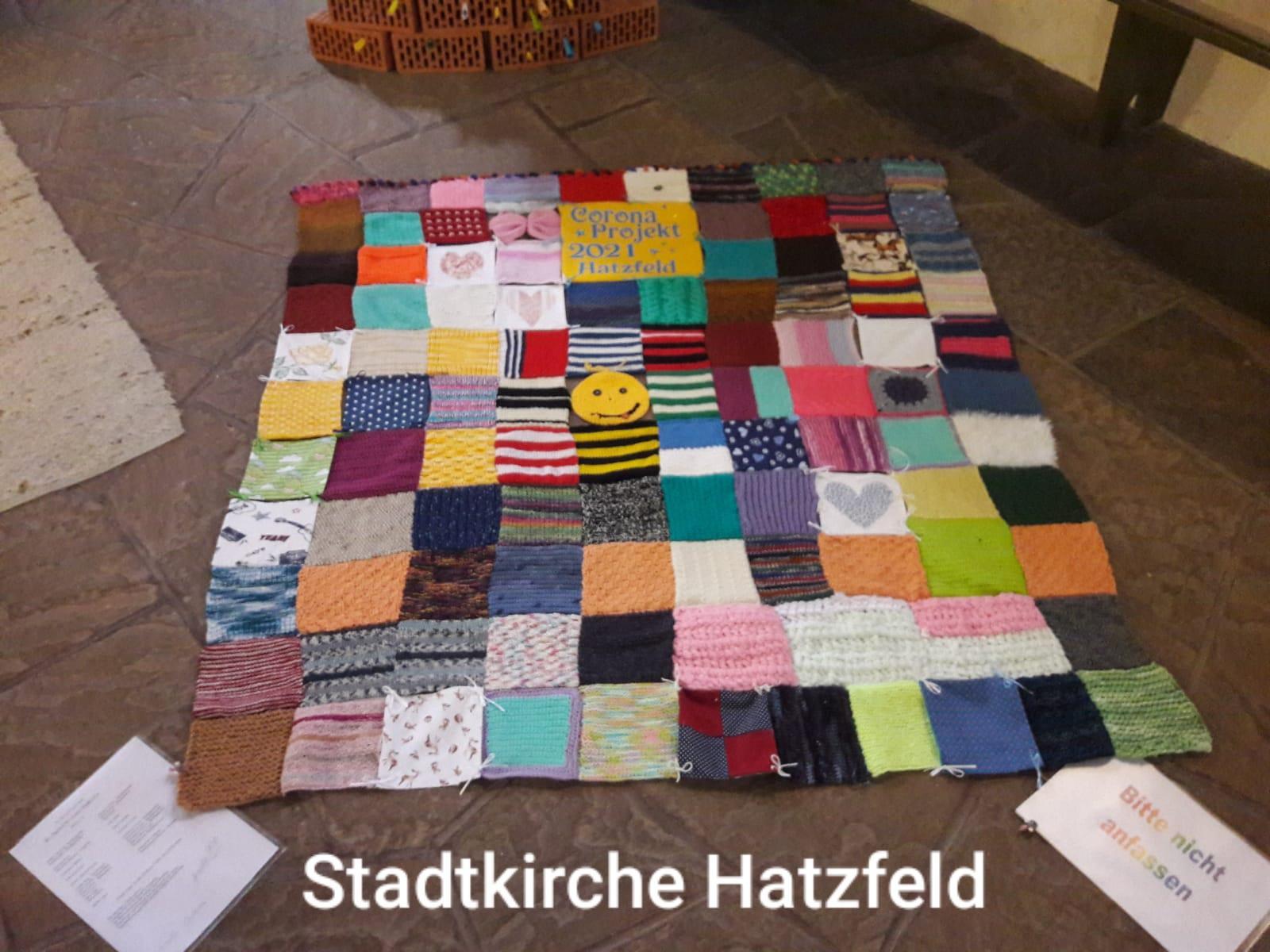 Corona-Teppich Hatzfeld
